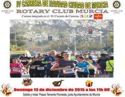 IV Carrera Navideña Ciudad de Murcia