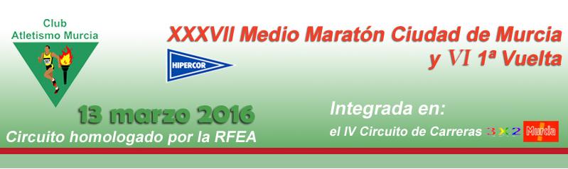 XXXVII Media Maratón ciudad de Murcia