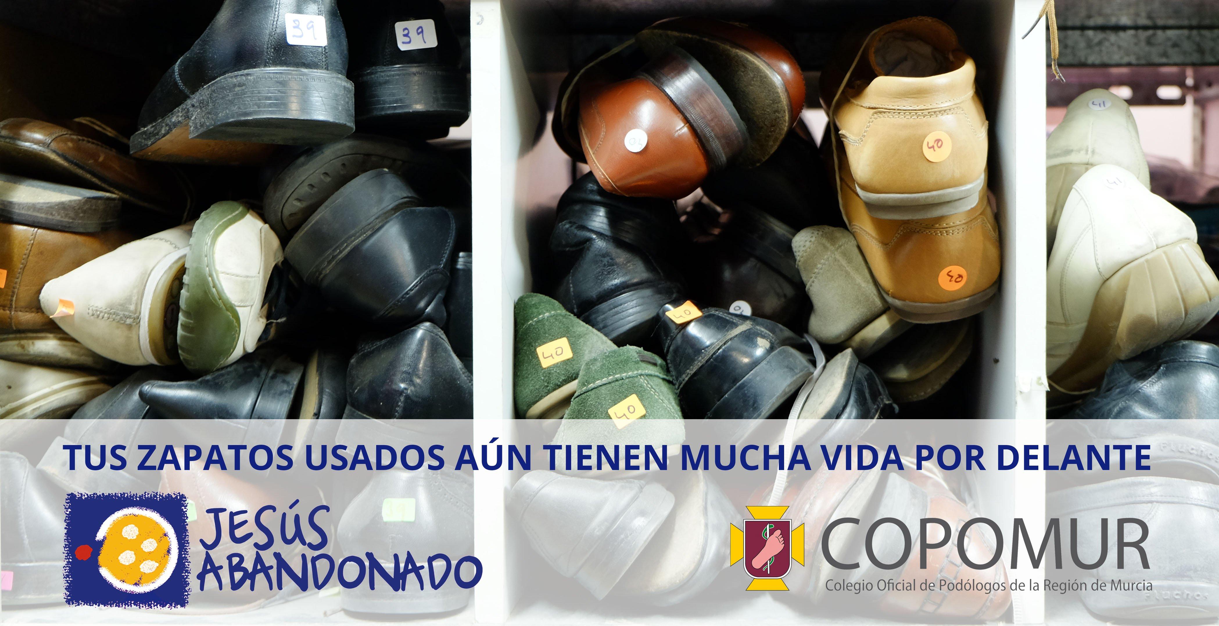CAMPAÑA DE RECOGIDA DE ZAPATOS EN LAS CONSULTAS DE PODOLOGÍA