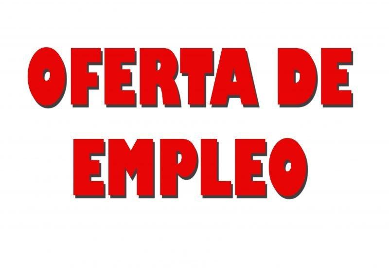 Oferta de Empleo – (VACANTE CUBIERTA)