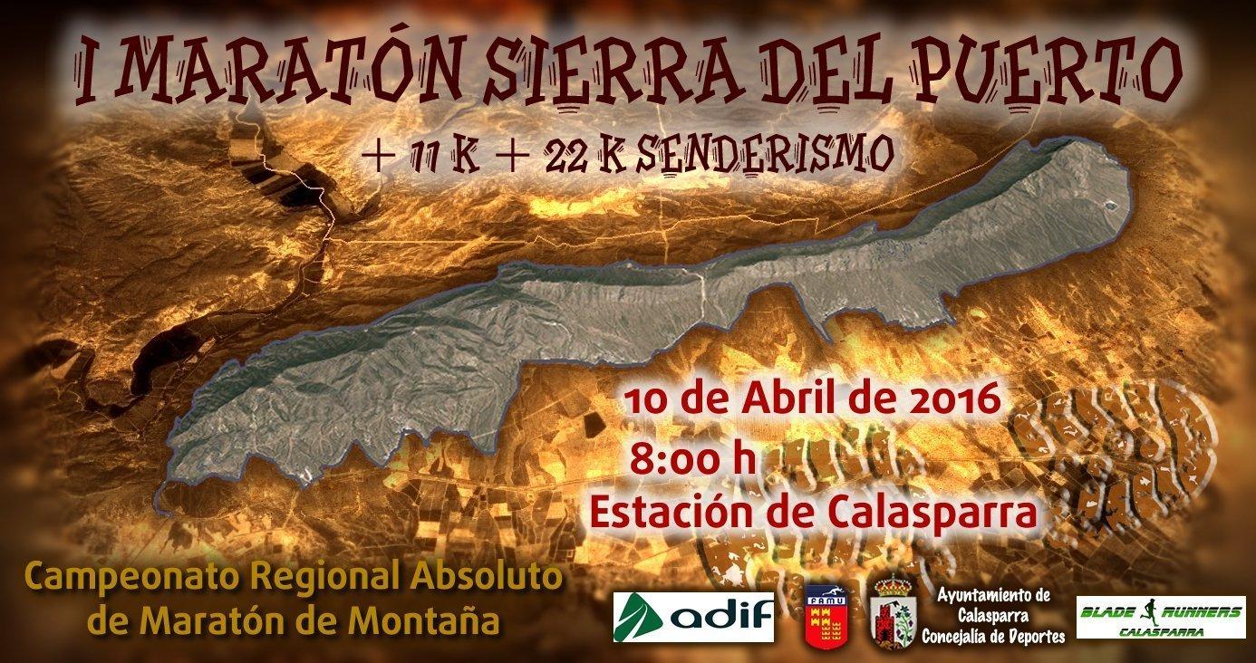 I Maratón Sierra del Puerto – Cambio de fecha