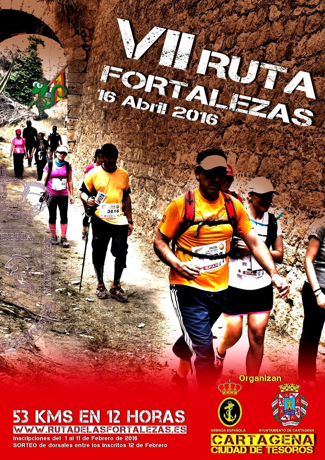 Voluntarios para la VII Ruta de las Fortalezas