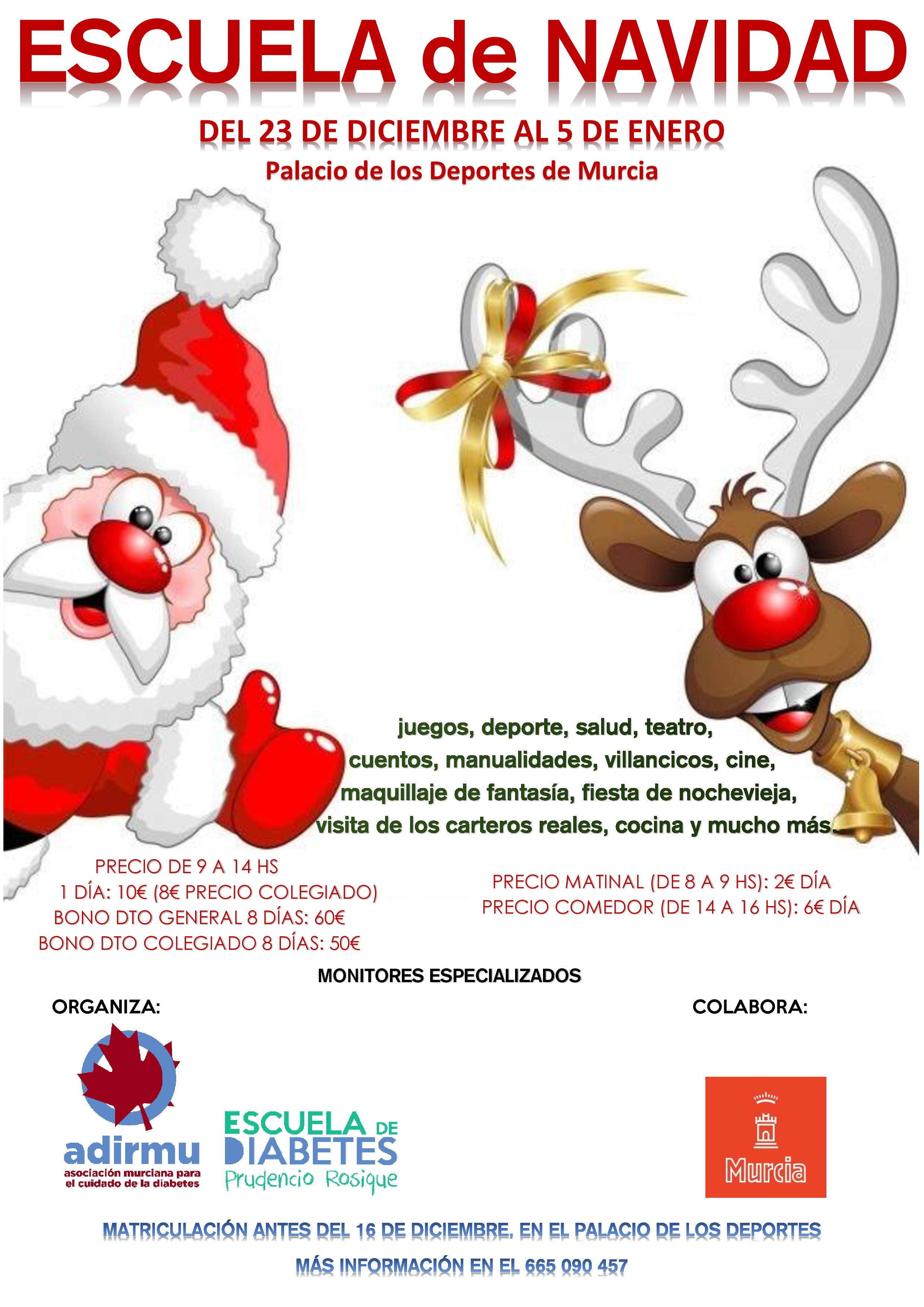 Escuela de Navidad para niños
