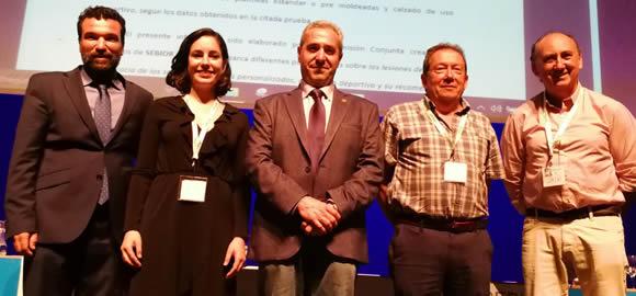 Participación del Presidente del COPOMUR en el V Simposium internacional de Biomecánica y Podología Deportiva