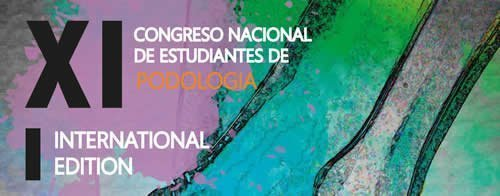 XI Congreso Nacional de Estudiantes de Podología – I International Edition