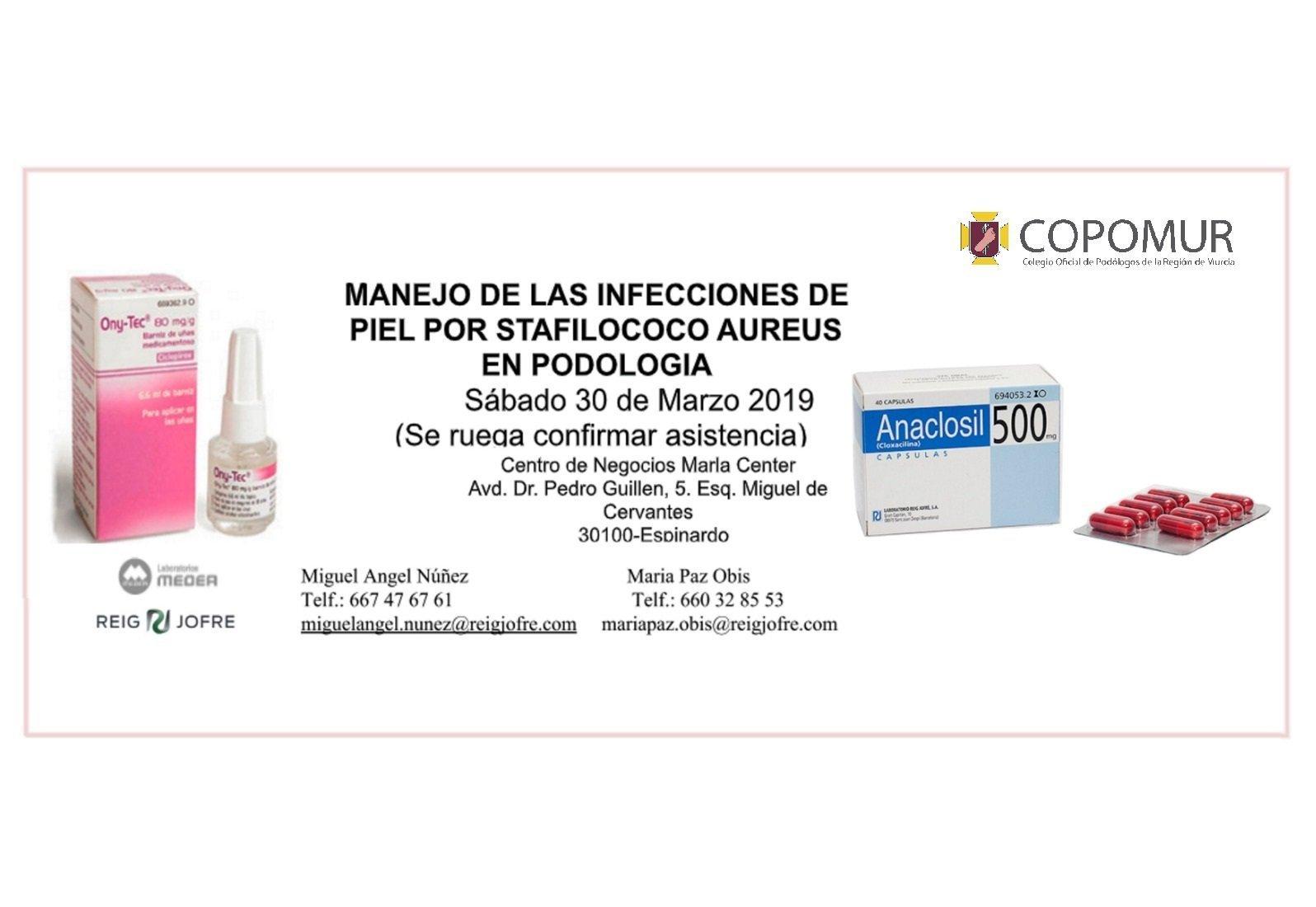 MANEJO DE LAS INFECCIONES DE PIEL POR STAFILOCOCO AUREUS EN PODOLOGÍA