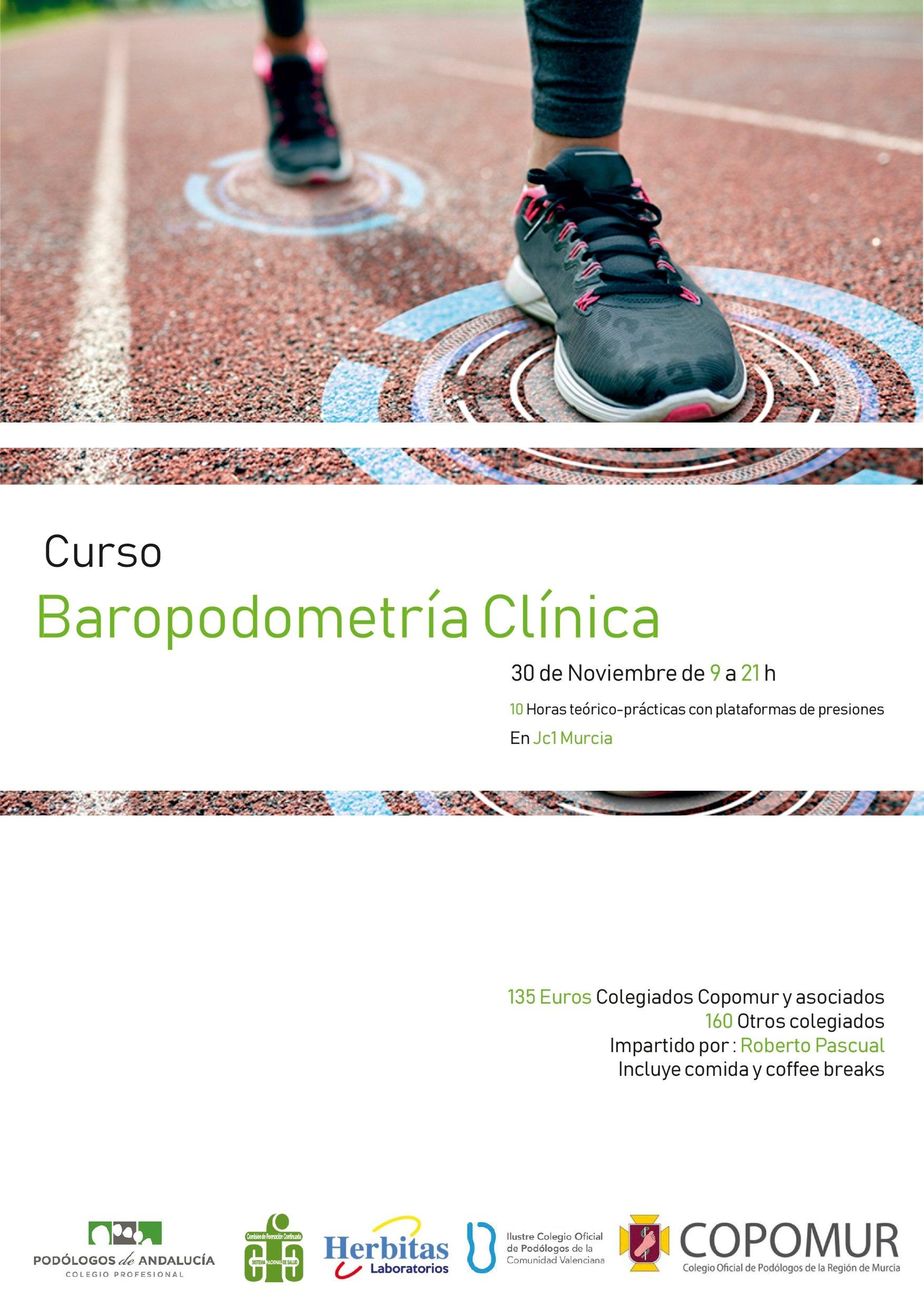 CURSO DE BAROPODOMETRÍA CLÍNICA