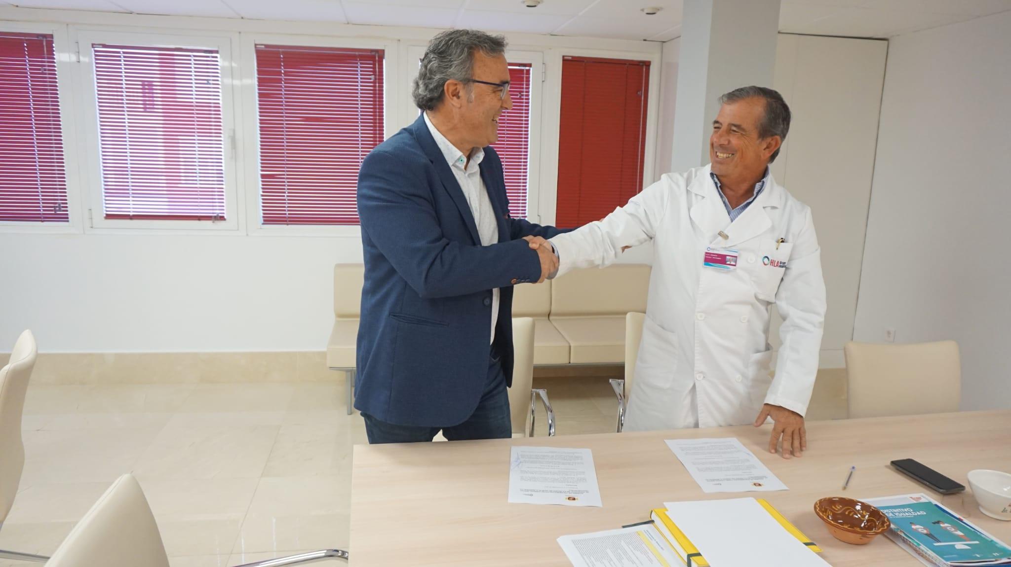 Acuerdo de colaboración con HLA La Vega
