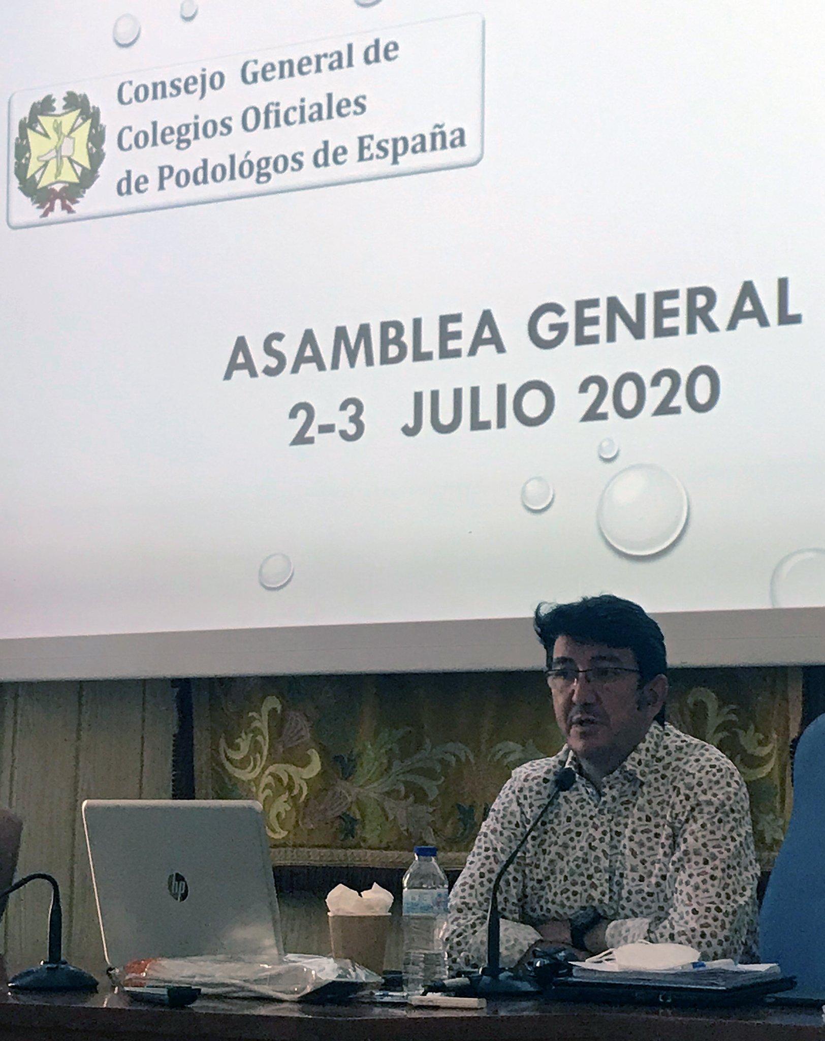 José García Mostazo dejará en septiembre la Presidencia del Consejo General de Colegios Oficiales de Podólogos