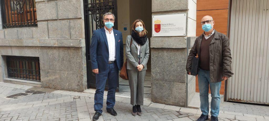 D. Francisco Barranco, Dña.Elena Carrascosa y D. Francisco diaz.