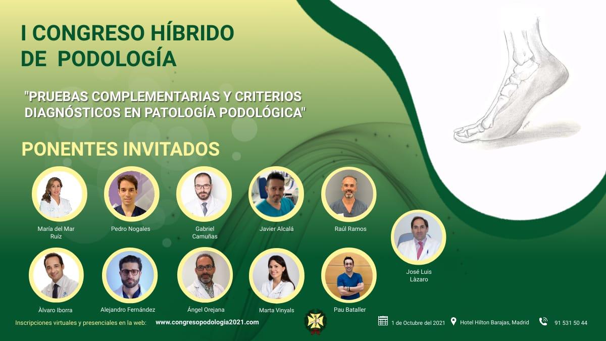 I CONGRESO HÍBRIDO DE PODOLOGÍA